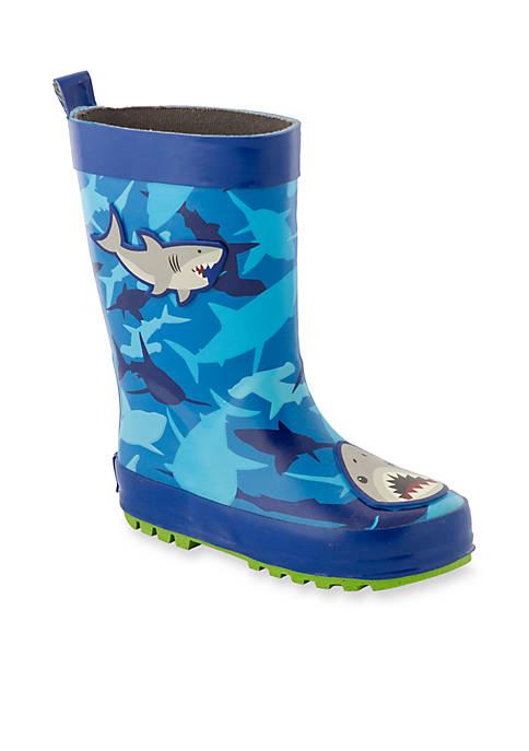 Shark Rain Boots Toddler Boys