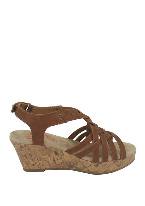 Jellypop Youth Girls Wedge Sandals