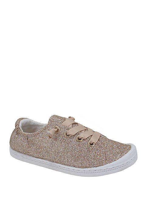 JELLYPOP Youth Girls Lollie Rose Gold Sneakers