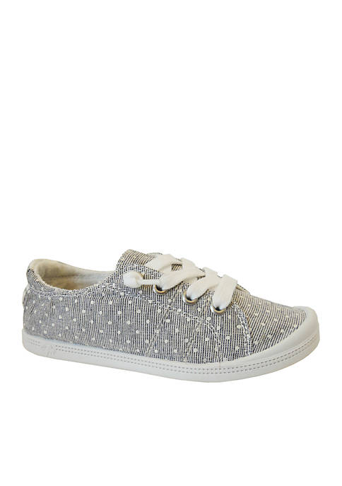 JELLYPOP Girls Lollie Grey White Dots Sneaker