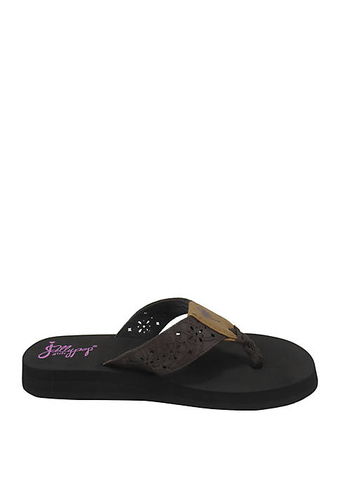 JELLYPOP Youth Girls Mimi Flip Flops