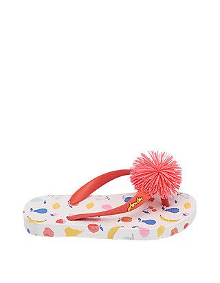 4b59378ede2b5 Joules Toddler/Youth Girls Printed Flip Flops   belk