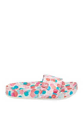 c99dac9e499c3 Joules Toddler/ Youth Girl's Poolside Slides ...
