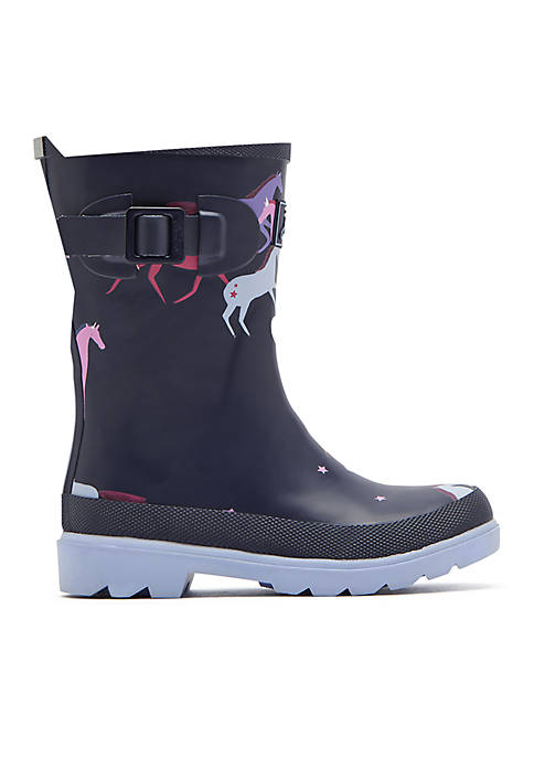 Joules Girls Welly Rainboot