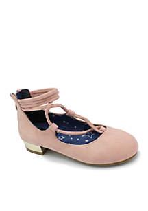 Girls Cynthia Velvet Ballerina Flats