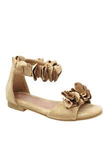 Girls Cindy Elegant Suede Sandals