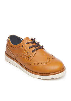 74ad321e25866e Crown & Ivy™ Boys Gabriel Wingtip Oxford Shoes ...
