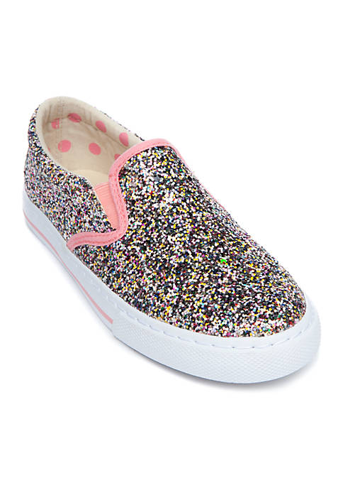 Crown & Ivy™ Girls Youth Sparkle Sneaker