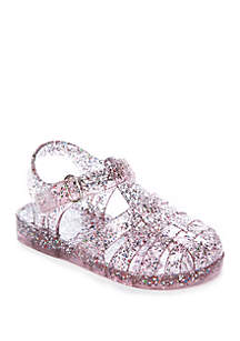 Crown & Ivy™ Girls Toddler Cloud Jelly Sandal