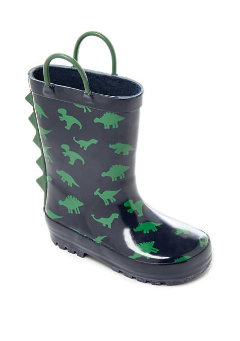 Crown & Ivy™ Boys Dino Rain Boots