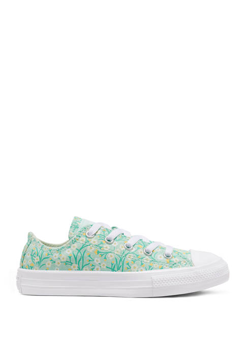 Youth Girls Floral Sneakers