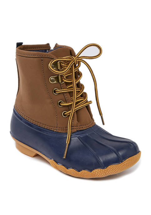 Toddler/Youth Navy Duck Boots