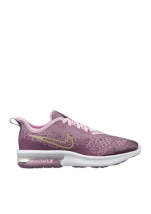 Nike® Youth Girls Air Max Sequent 4 Sneakers