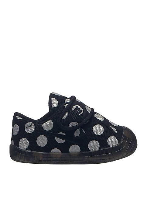 Infant Girls Waffle 1 Crib Dot Sneaker