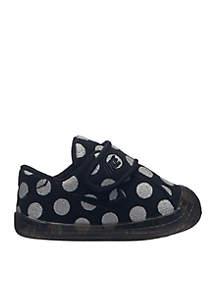 Nike® Infant Girls Waffle 1 Crib Dot Sneaker