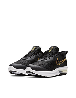 dc52f122c012 ... Nike® Youth Girls Air Max Sequent 4 Shield Sneakers ...