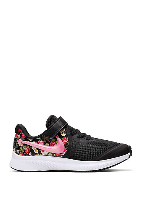 Nike® Toddler/Youth Girls Star Floral Runner Sneakers