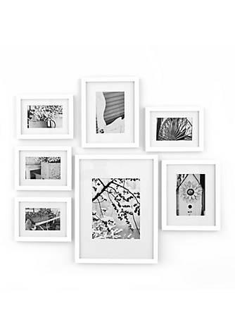 Burnes of Boston® Gallery Perfect 7-Piece Frame Set Kit - White   belk