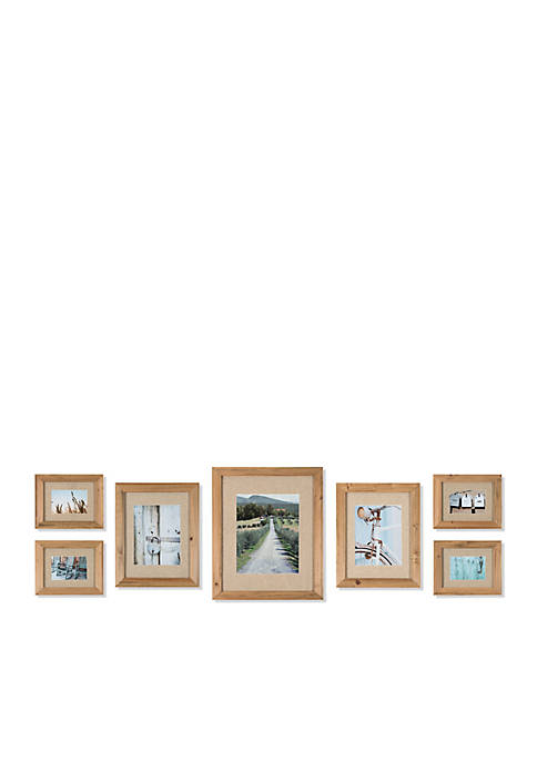 Gallery Perfect Rustic Wood Frame Kit