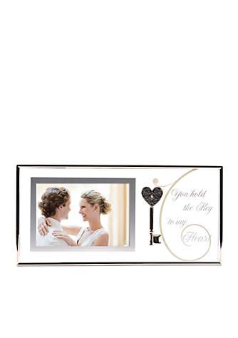 Burnes of Boston® Key to My Heart 4x6 Tabletop Frame   belk
