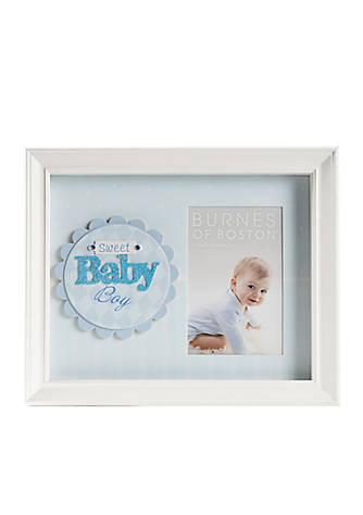 Burnes of Boston® Sweet Baby Boy Shadow Box Frame   belk
