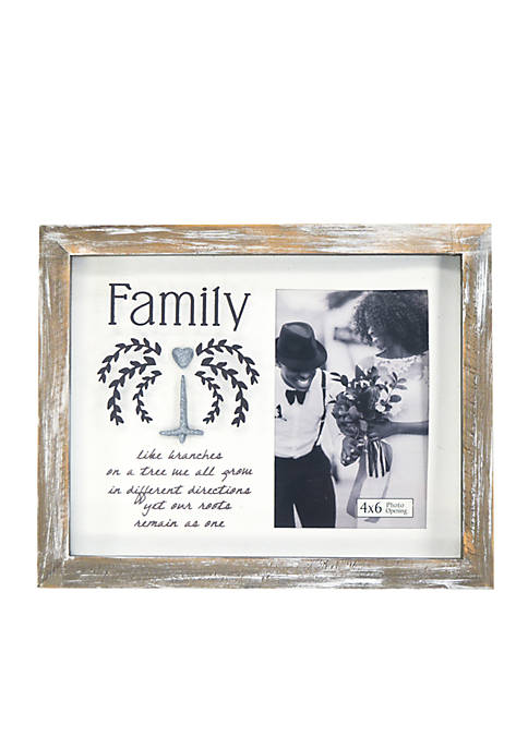 New View Family Natural Arts Frame