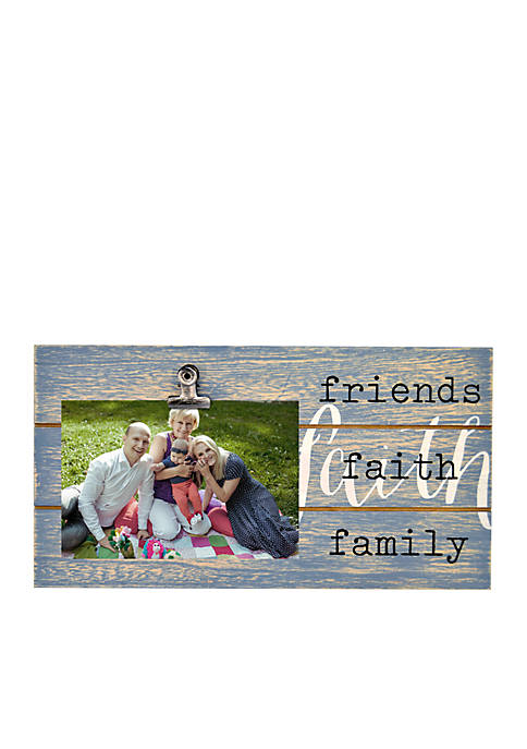 New View Faith Friends Family Picture Frame