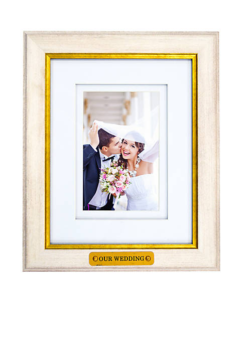 New View Our Wedding Ridgefield Picture Frame