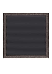 Black Letter Board with Grey Frame