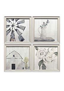4-Piece Ava Barrett Art Set