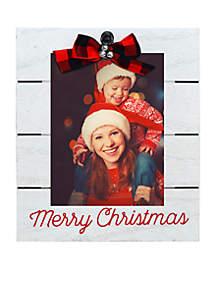 Merry Christmas Jingle Bells Clip Frame