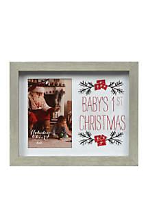 Baby's 1st Christmas Frame Shadowbox