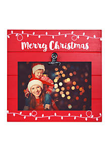 Merry Christmas Clip Frame