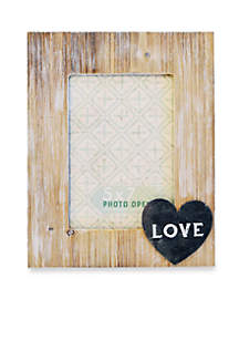 New View Love Icon 5x7 Frame