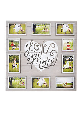 New View Love You More Collage Frame Belk
