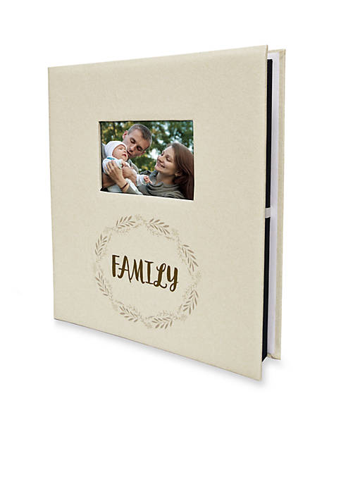 New View Family Ivory 5-Up Photo Album