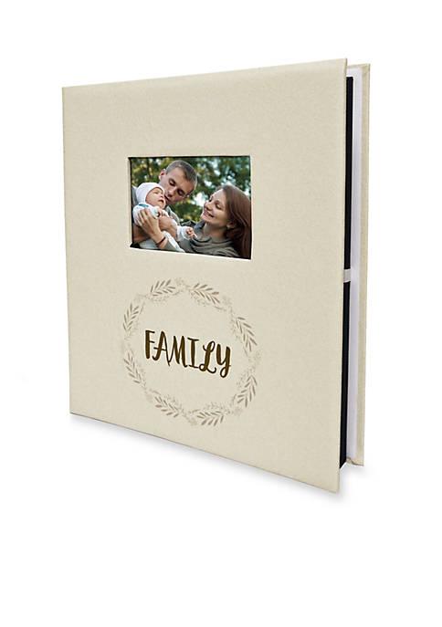 Family Ivory 5-Up Photo Album