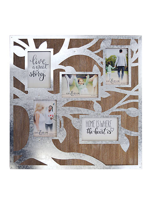 New View Family Tree Collage Picture Frame