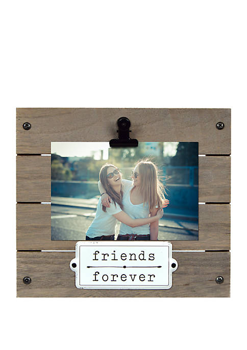 New View Friends Forever Enamel Plaque Clip Frame