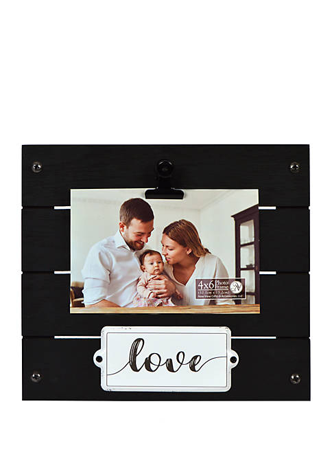 New View Love Enamel Plaque Clip Frame