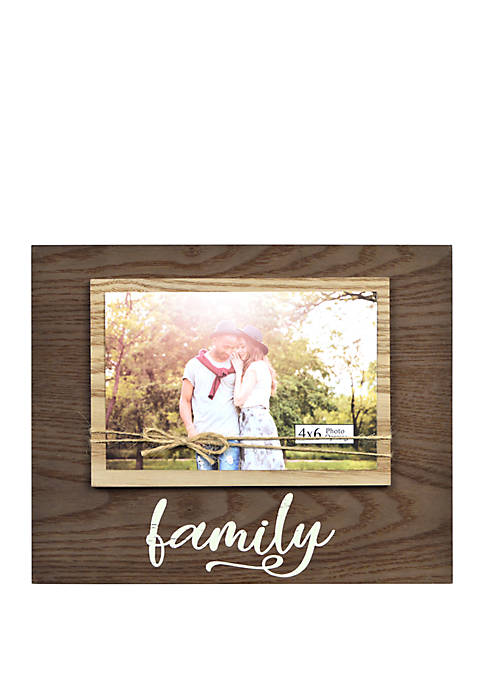 New View Family Twine Bow Frame