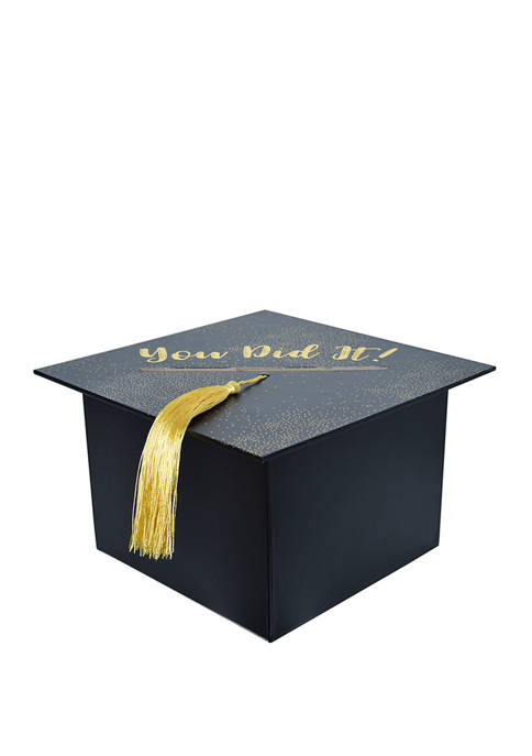 New View Grad Hat Card Box