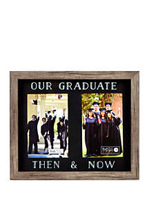 New View Then And Now Picture Frame