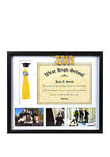 New View Diploma Tassel Collage Frame 2019