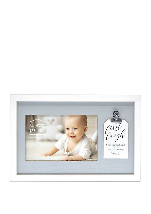 9 Inch x 6 Inch Reverse Frame with Clip Tag