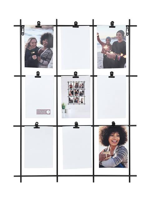 Rectangular Wall Photo Collage Frame