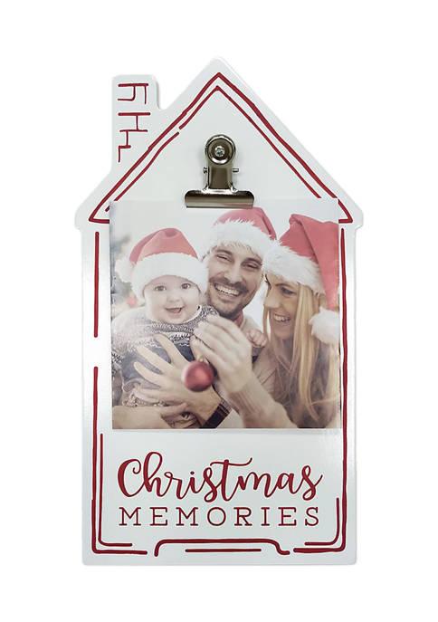 House Clip Frame - Christmas Memories