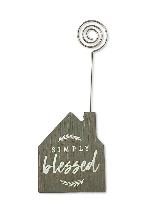 Simply Blessed House Clip Frame