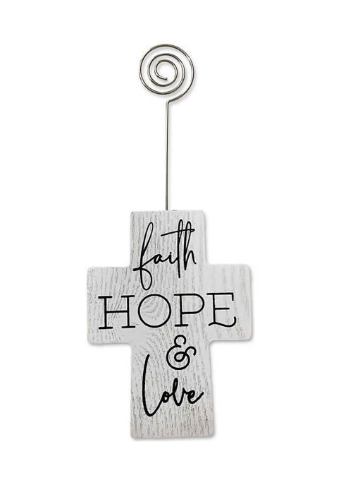 New View Faith Cross Clip Frame