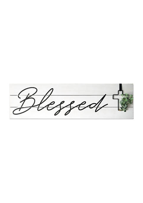 Blessed Wire Plaque